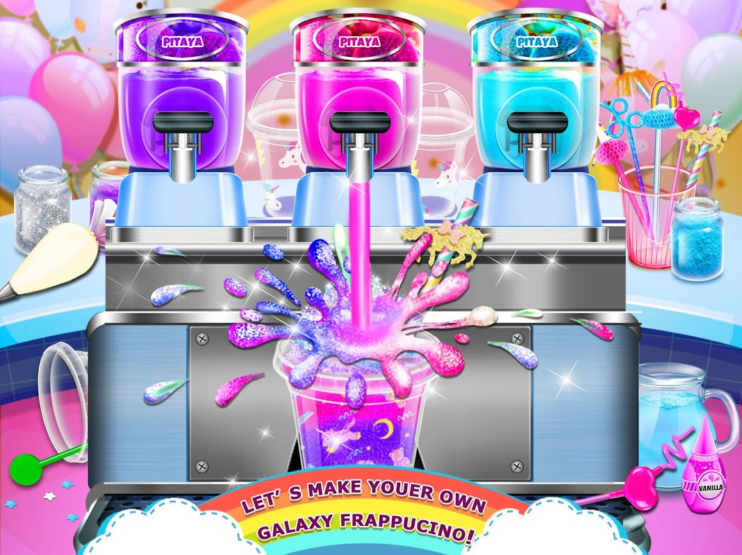 Rainbow Ice Cream - Unicorn Party Food Maker 1.0 Screen 1