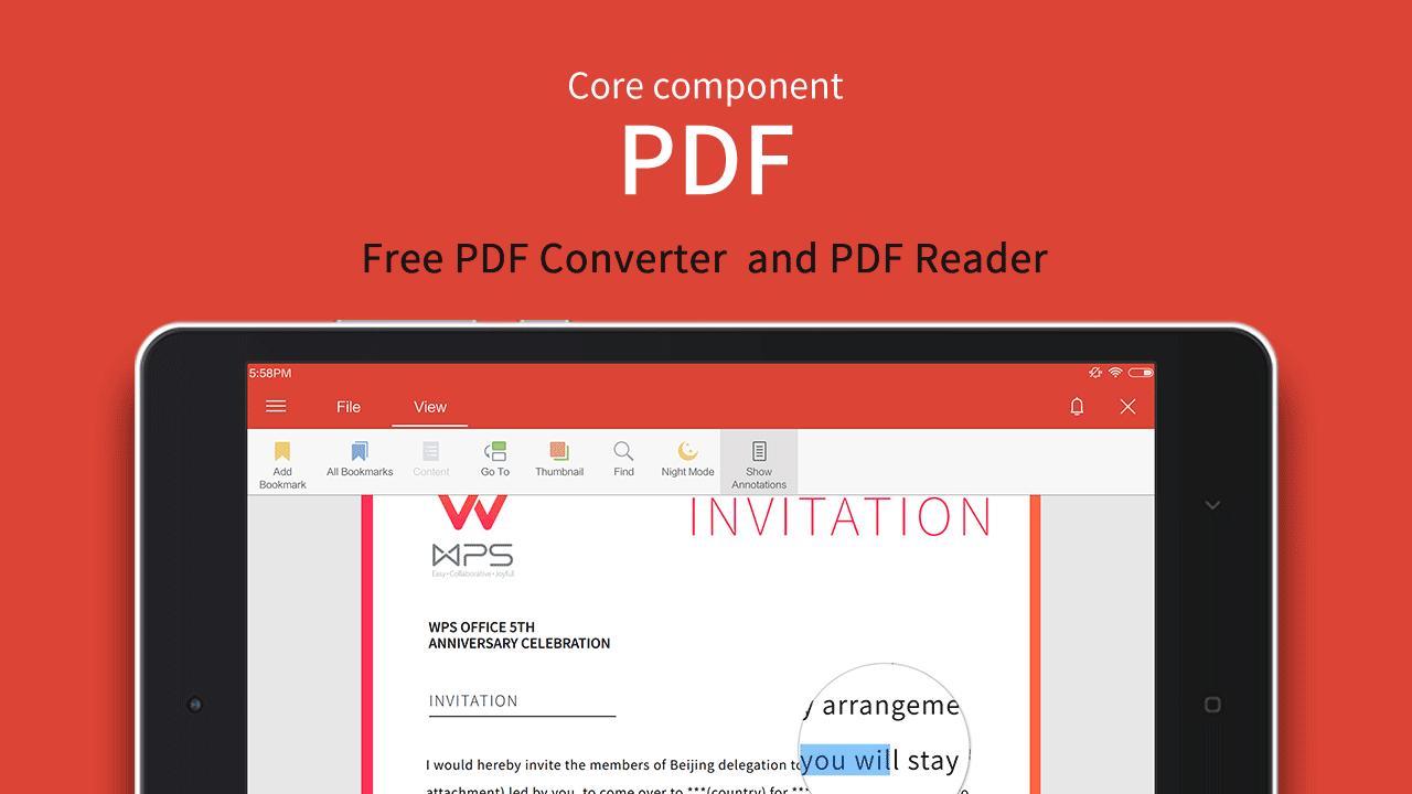 WPS Office + PDF 11.3 Screen 10