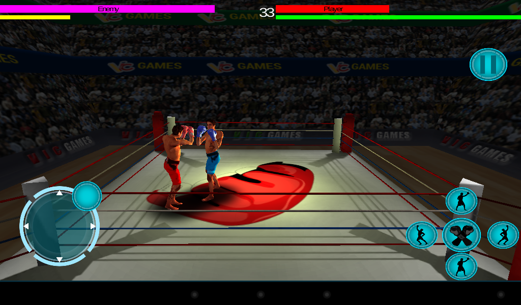 3D Boxing 2.3 Screen 2