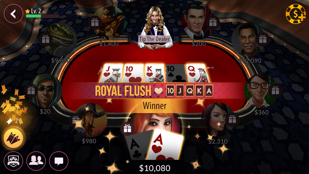 Android Zynga Poker – Texas Holdem Screen 12