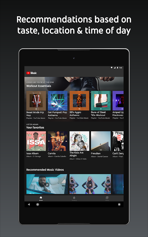 YouTube Music - stream music and play videos 3.05.54 Screen 9