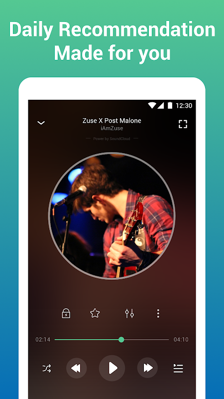 Android Free Music Lite - Offline Music Player Screen 1