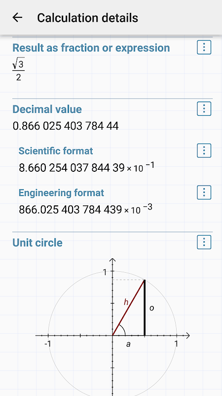 Android HiPER Calc Pro Screen 8