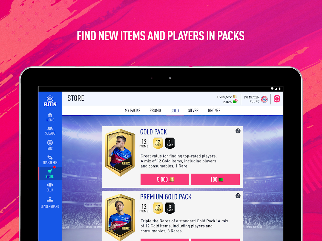 Android EA SPORTS™ FIFA 18 Companion Screen 9