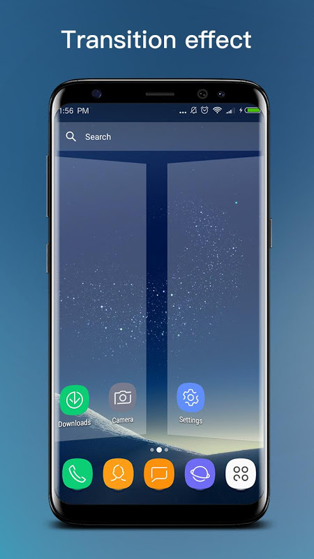 Android S S8 Launcher - Galaxy S8 Launcher, theme, cool Screen 1