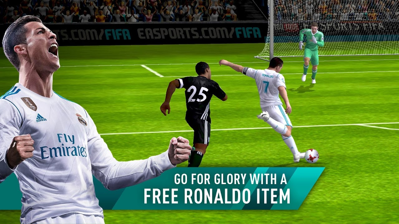 Android FIFA Mobile Football Screen 1