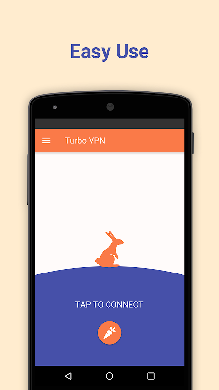 Android Turbo VPN - Unlimited Free VPN Screen 2