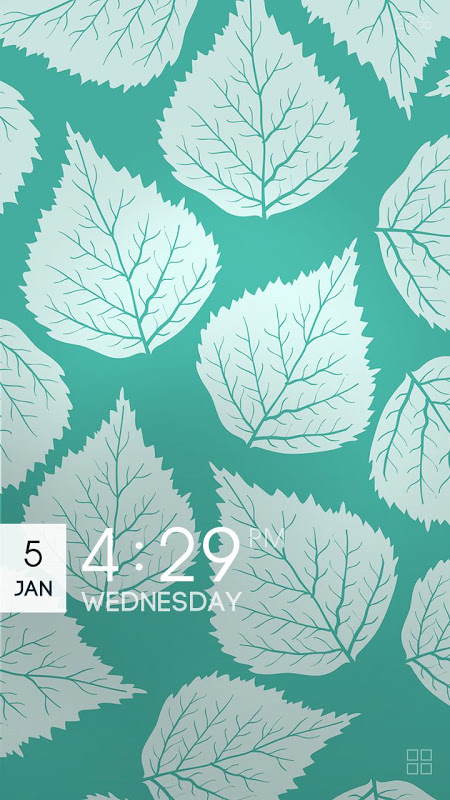 Android ZUI Locker Theme - Patterns Toni Guerrero (imatges boniques) Screen 1