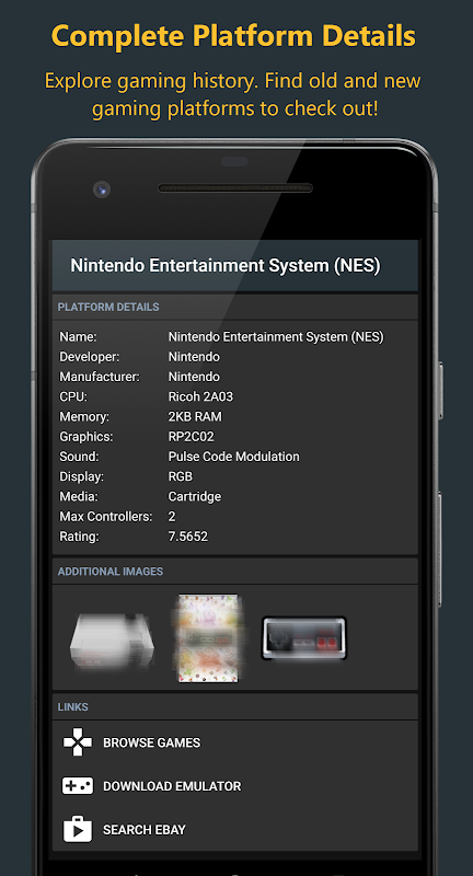 Gamers Database - Video Game List and Tracker 2.1.3-free Screen 7