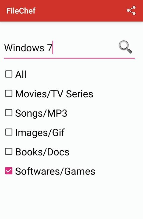FileChef 1.3 Screen 1