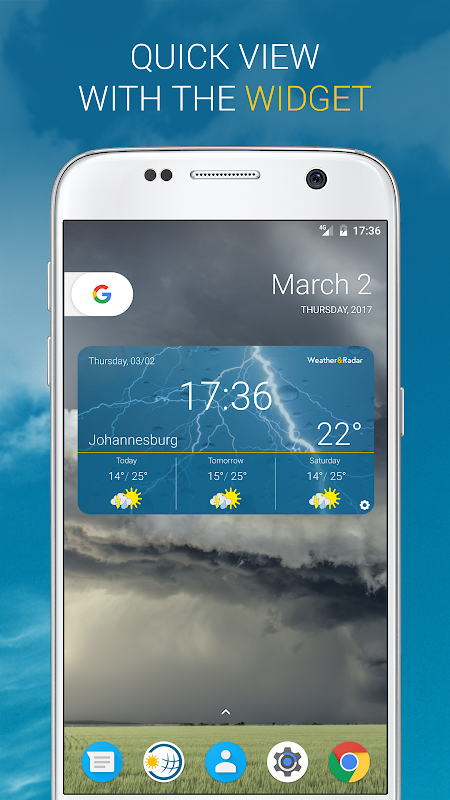 Weather & Radar UK 4.41.2 Screen 5