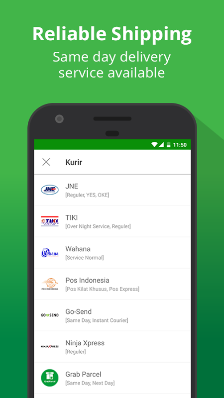 Android Tokopedia - Online Shopping, Pulsa & Payment Screen 5