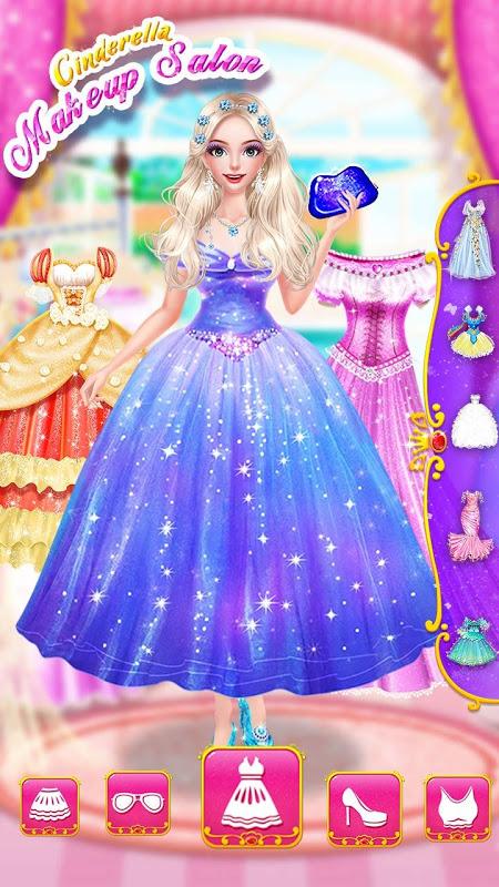 Cinderella Fashion Salon - Makeup & Dress Up 2.2.3967 Screen 4
