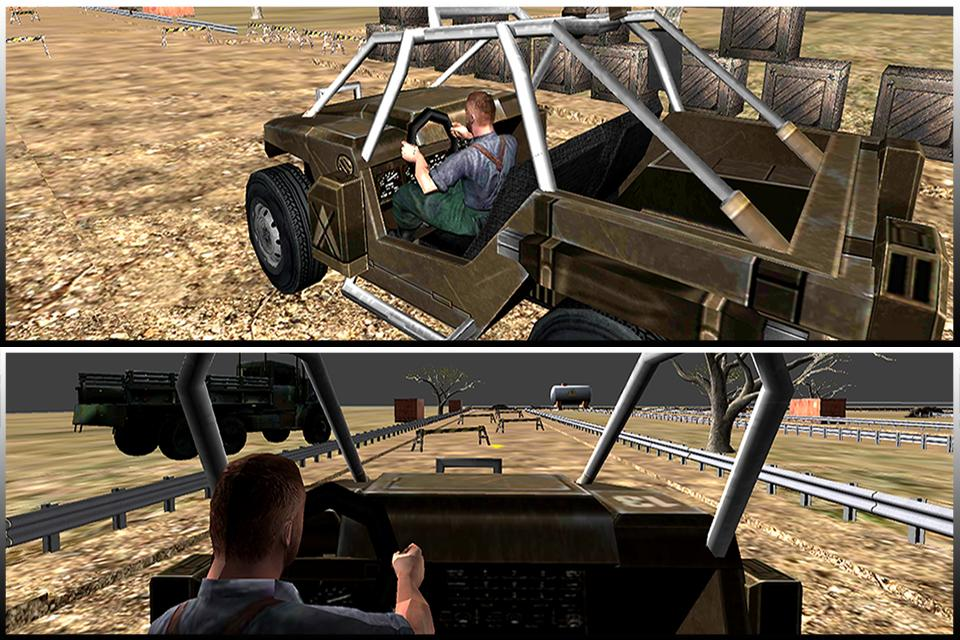 Combat Jeep Driving Simulator 1.0 Screen 1