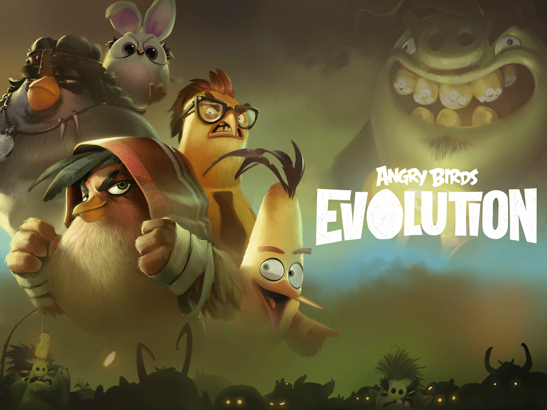 Android Angry Birds Evolution Screen 6