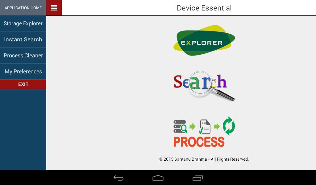 Device Essential 1.3.0 Screen 7