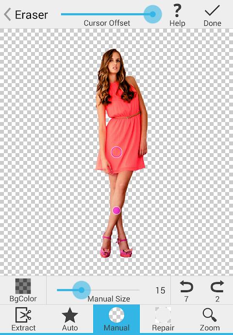 Background Eraser 2.6.0 Screen 1
