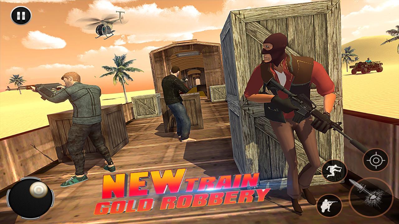 Train hijack 2019 – New Train Gold Robbery 1.0 Screen 1