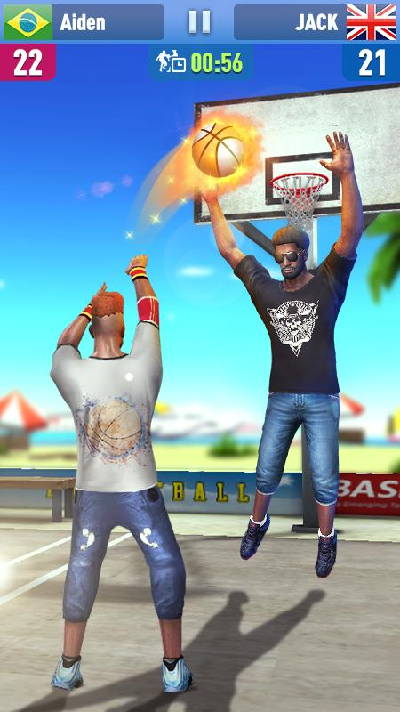 Android Basketball Shoot 3D Screen 1