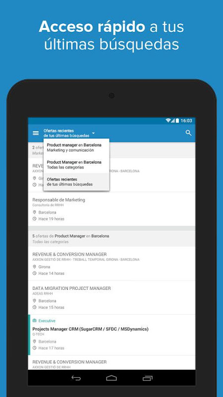 Android InfoJobs - Job Search Screen 19