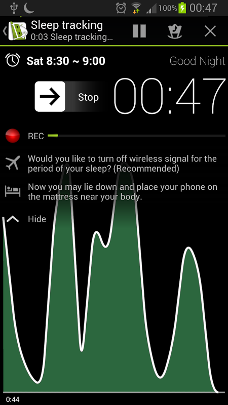 Android Sleep as Android Screen 6