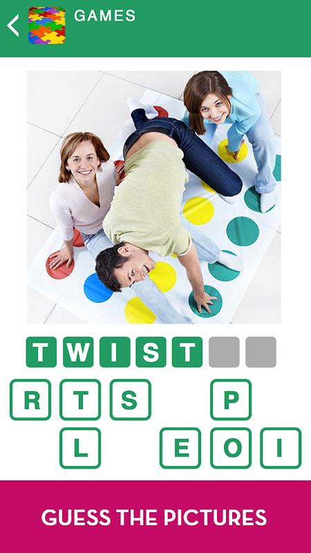100 PICS Quiz - guess the picture trivia games 1.5.2.3 Screen 6