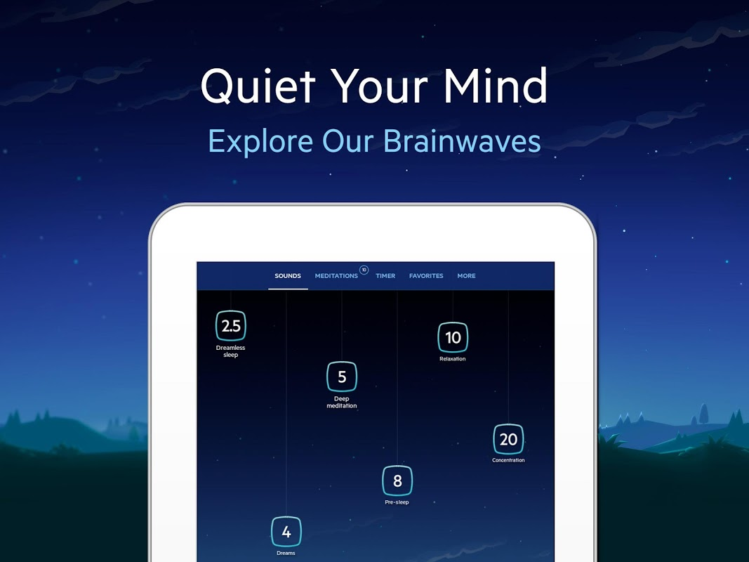 Relax Melodies P: Sleep Sounds 6.7.4 Screen 1