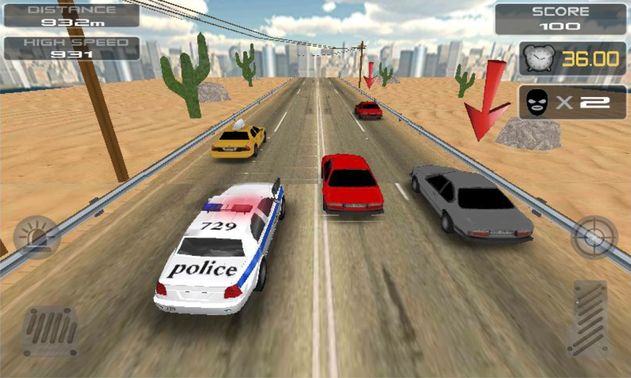 POLICE Clash 3D 1.7 Screen 1