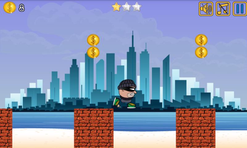 Android Thief Run Screen 4