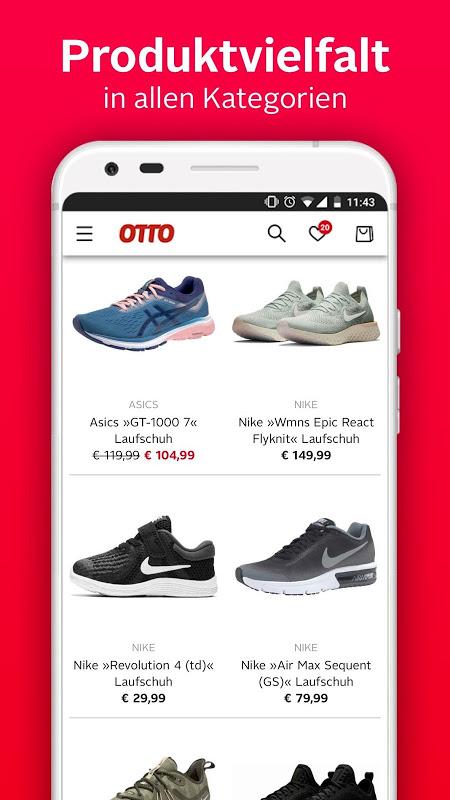 Android OTTO - Shopping für Mode & Wohnen Screen 1