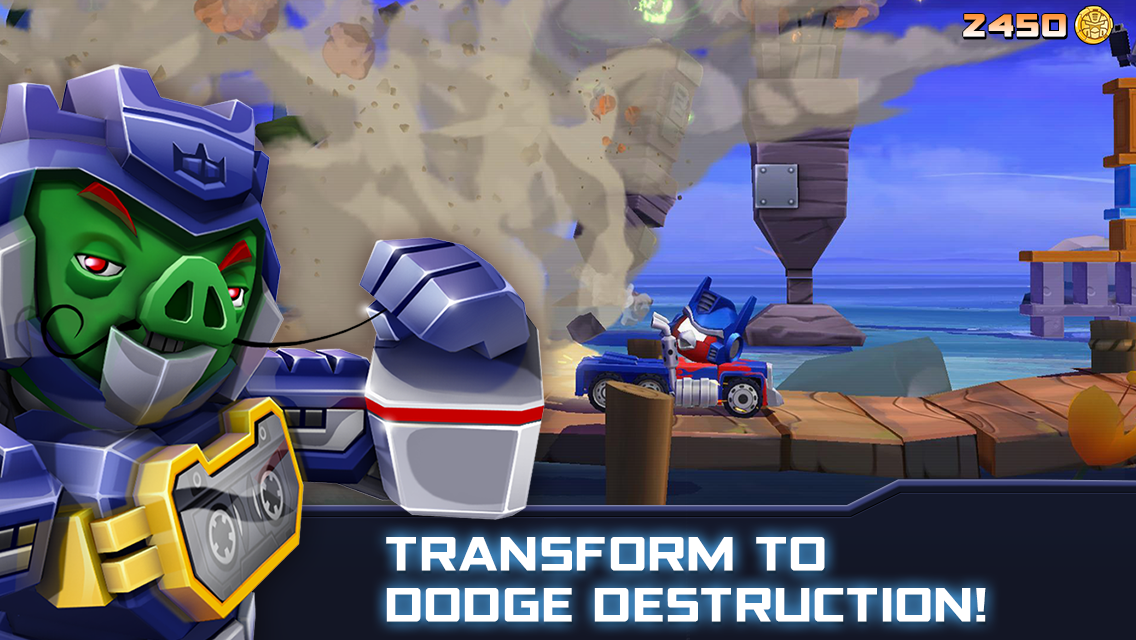 Angry Birds Transformers 1.35.8 Screen 4