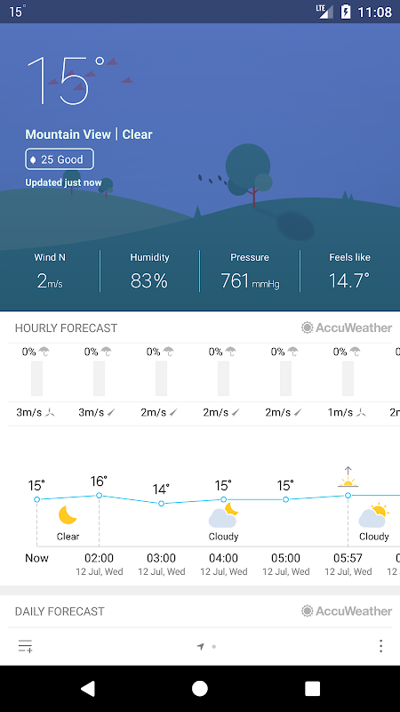 Weather Mate (Weather M8) 1.3.9 Screen 1