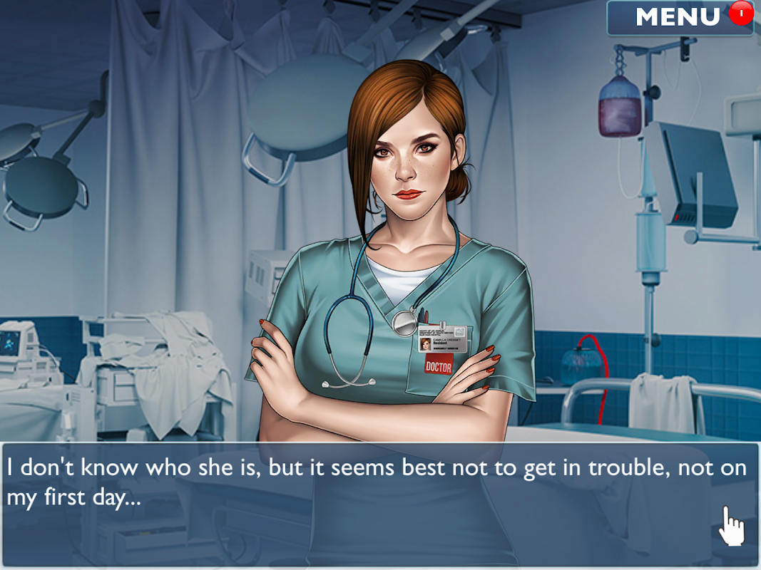 Android Is it Love? Blue Swan Hospital - Choose your story Screen 5