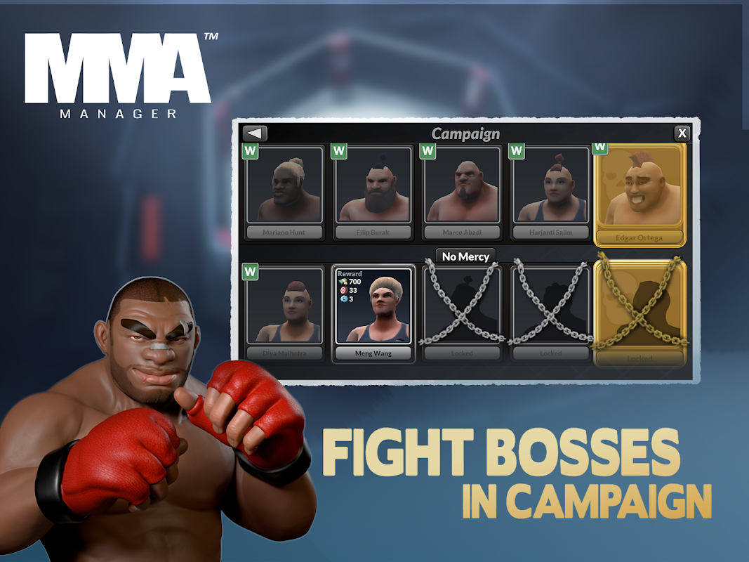 MMA Manager 0.8.4 Screen 20