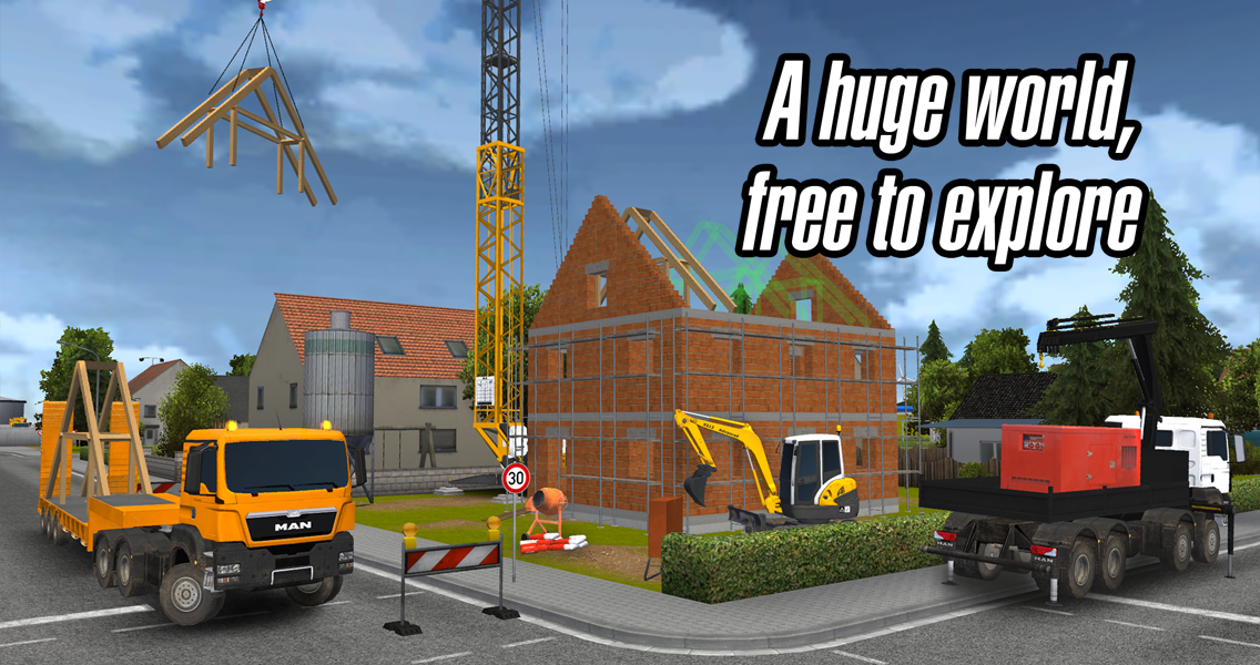 Android Construction Simulator 2014 Screen 4