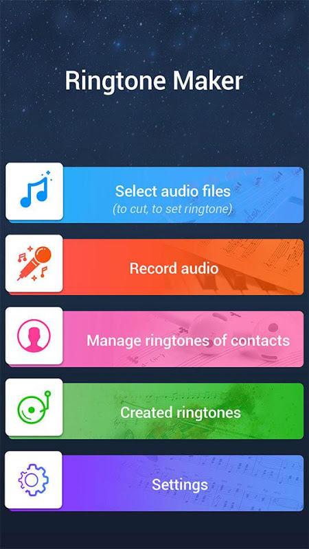 MP3 Cutter Ringtone Maker Pro 44 Screen 2