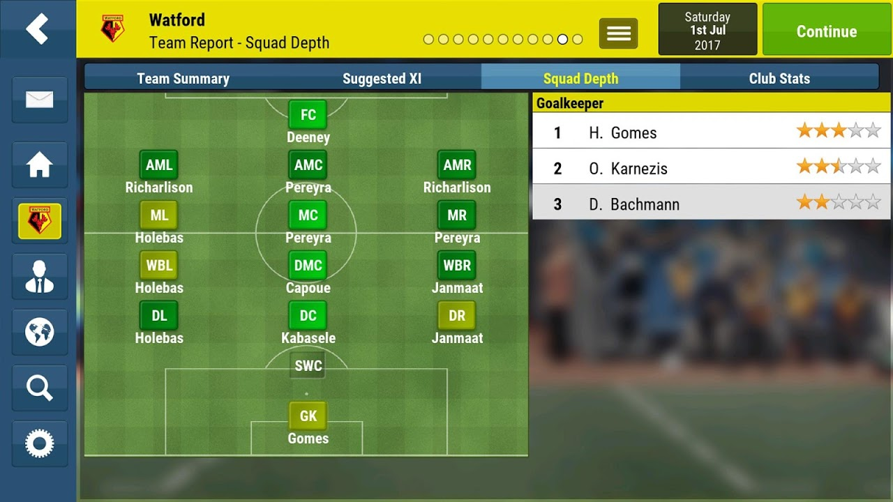 Football Manager Mobile 2018 9.0.3 (ARM) Screen 6