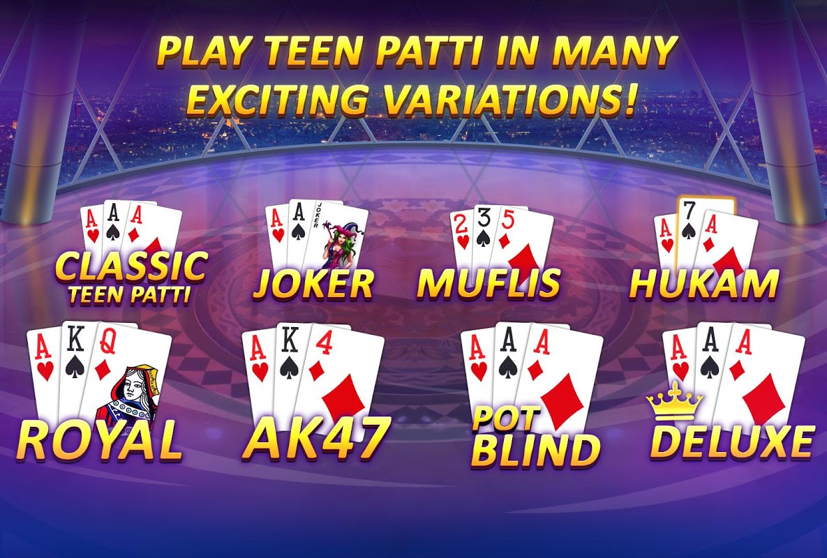 Android Teen Patti Gold - With Poker & Rummy Screen 1