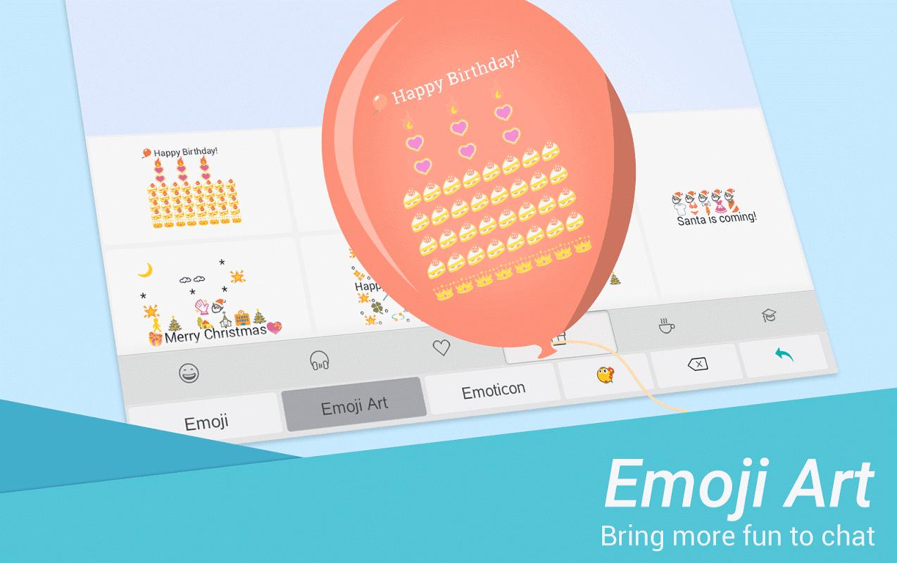 TouchPal Emoji Keyboard - Emoji,theme,sticker,gif 6.4.9.1 Screen 3