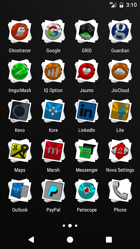 Android Stacks Icon Pack v4.2 Screen 2