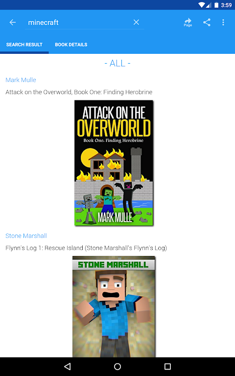 Android Free eBooks for Kindle Screen 13