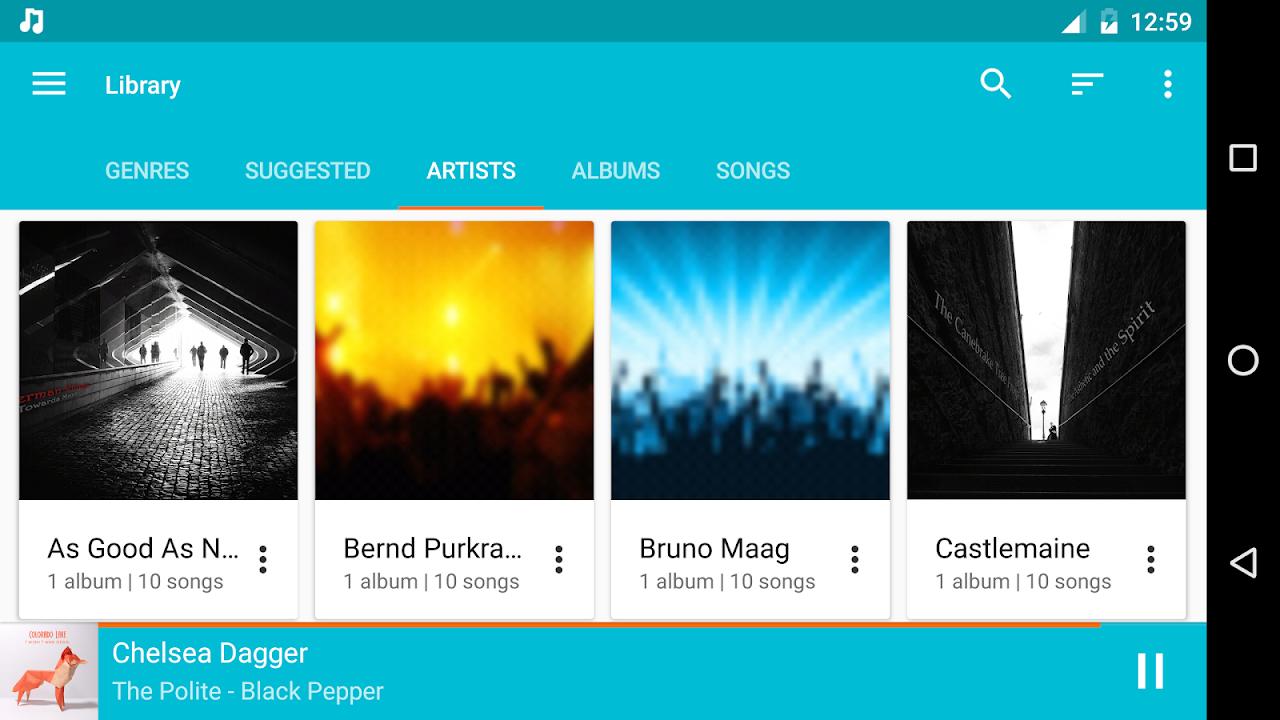 Shuttle+ Music Player 2.0.7-beta1 Screen 5