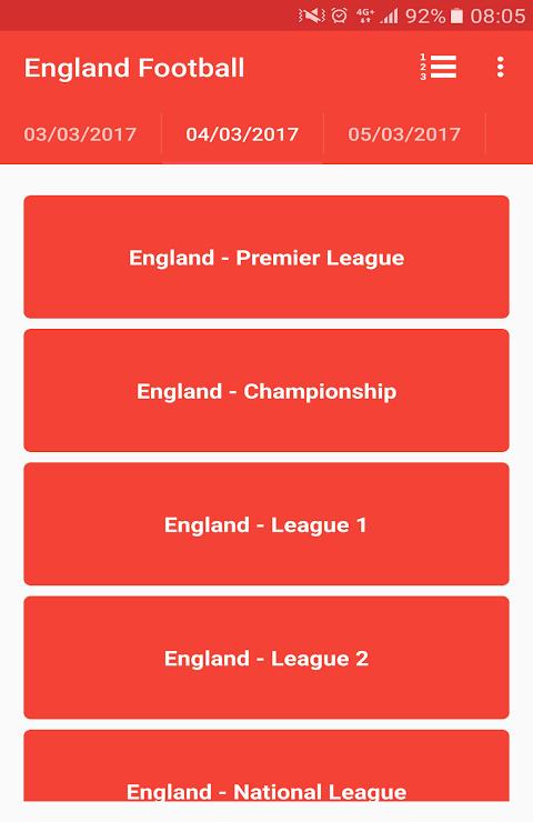 English Premier League 3.0 Screen 9