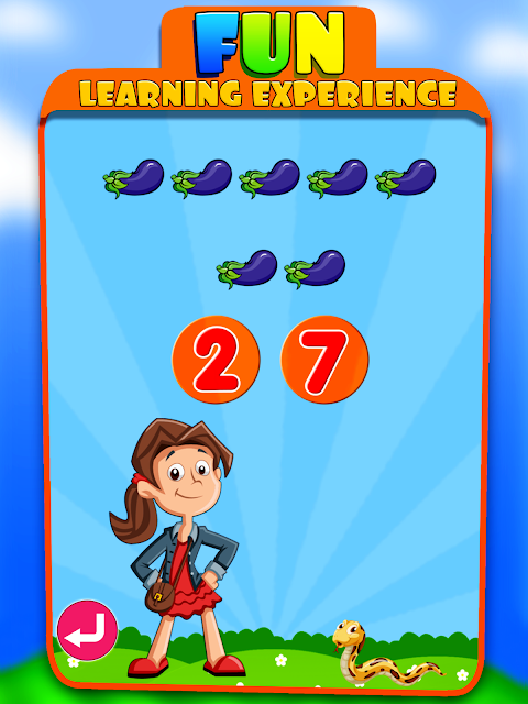 Android Kids Learning Educational Game Screen 10