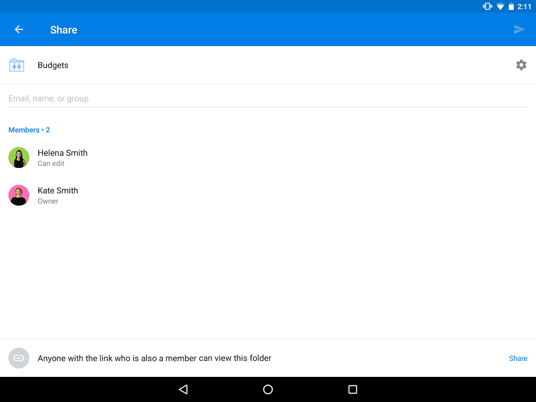 Dropbox 74.1.8 Screen 7