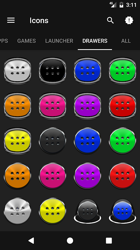 Android Stacks Icon Pack v4.2 Screen 7