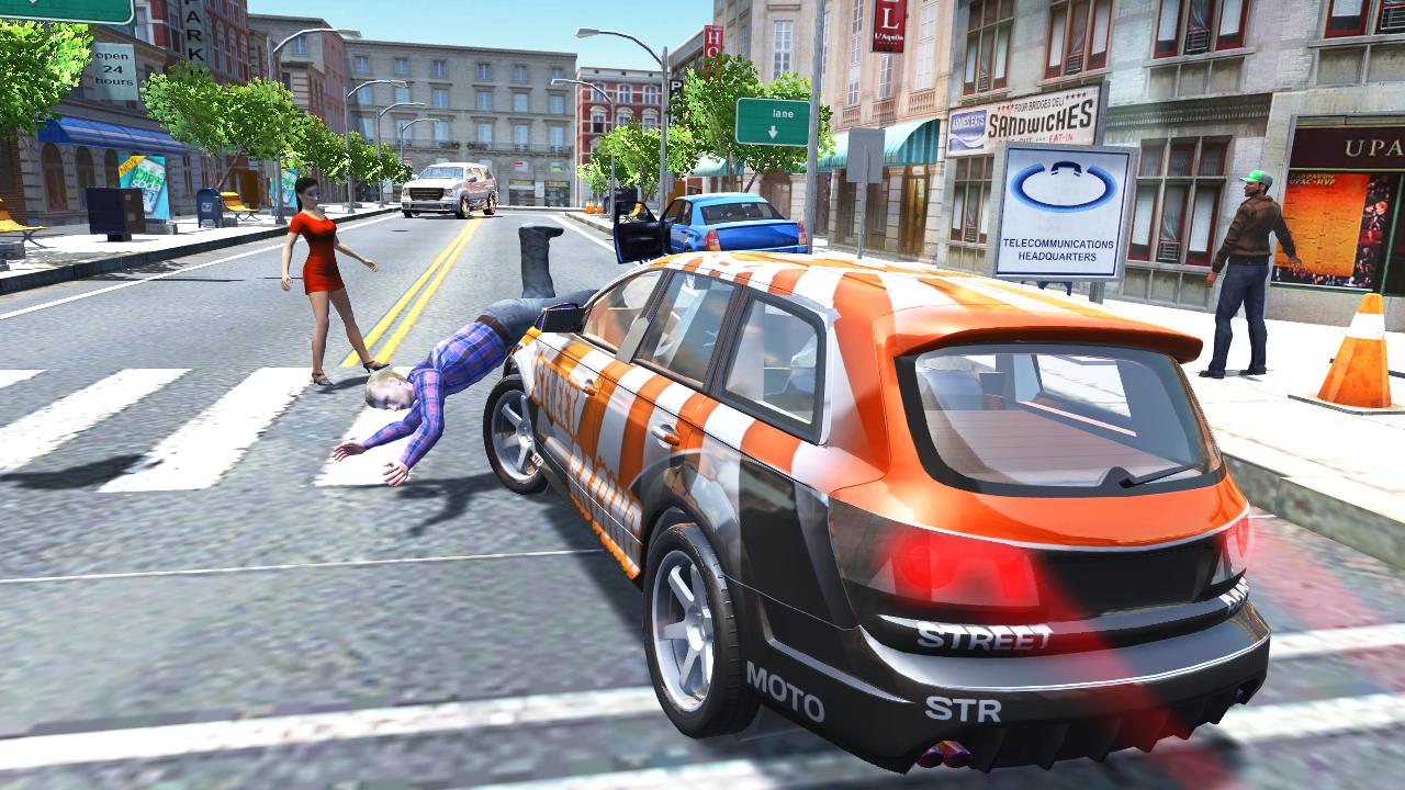 Android Urban Car Simulator Screen 7