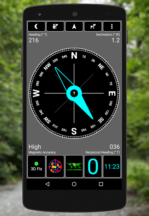 GPS Test 1.5.8 Screen 4
