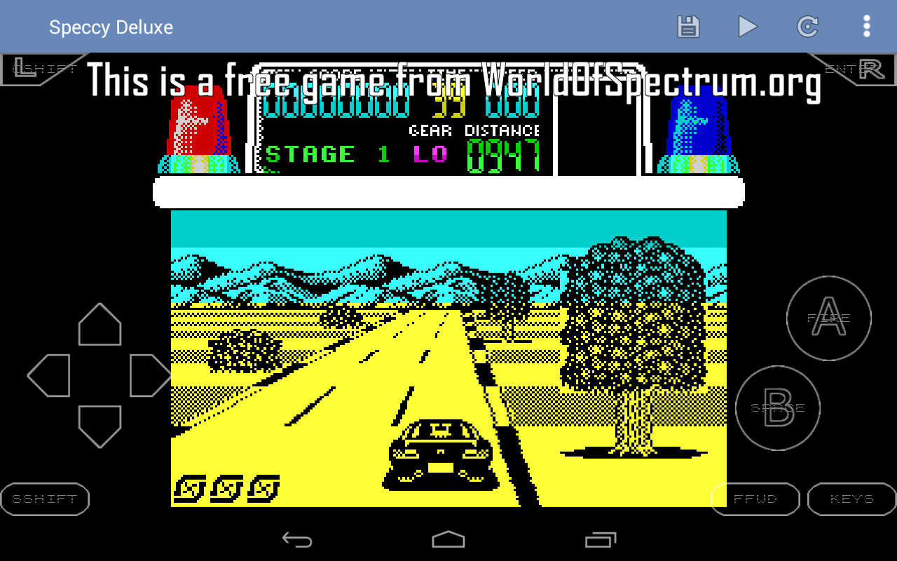 Android Speccy - ZX Spectrum Emulator Screen 5