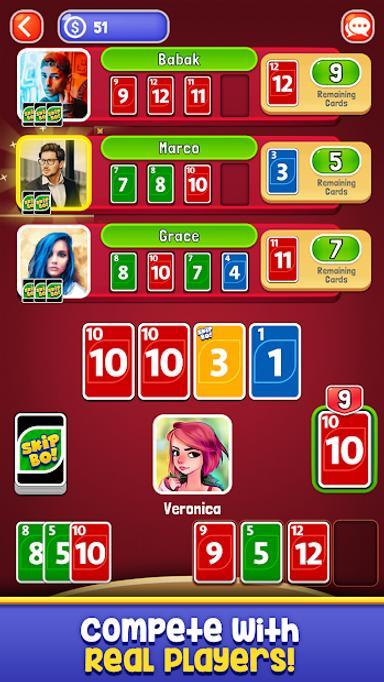 Skip-Bo 1.0 Screen 3